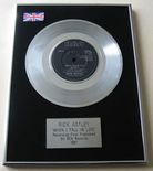 RICK ASTLEY - WHEN I FALL IN LOVE PLATINUM single presentation DISC